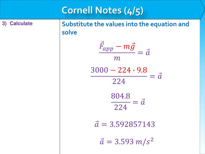 Cornell Notes (4/5)