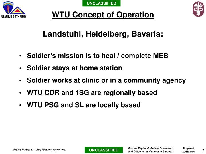 Soldier's mission is to heal / complete MEB