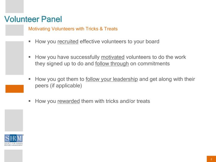 Volunteer Panel