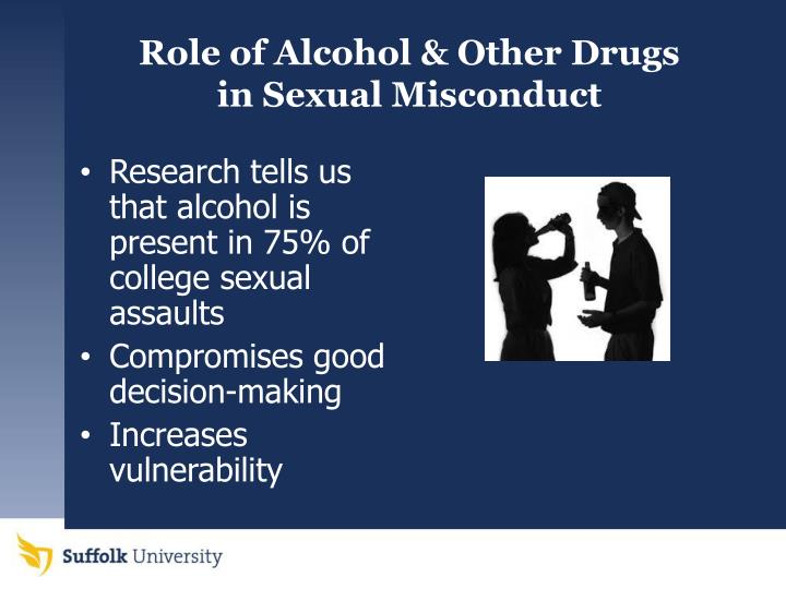 Role of Alcohol & Other Drugs