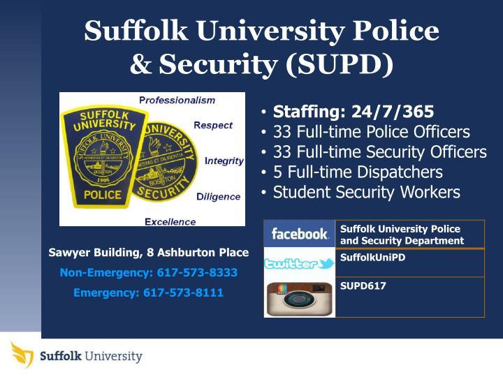 Suffolk University Police