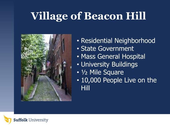 Village of Beacon Hill