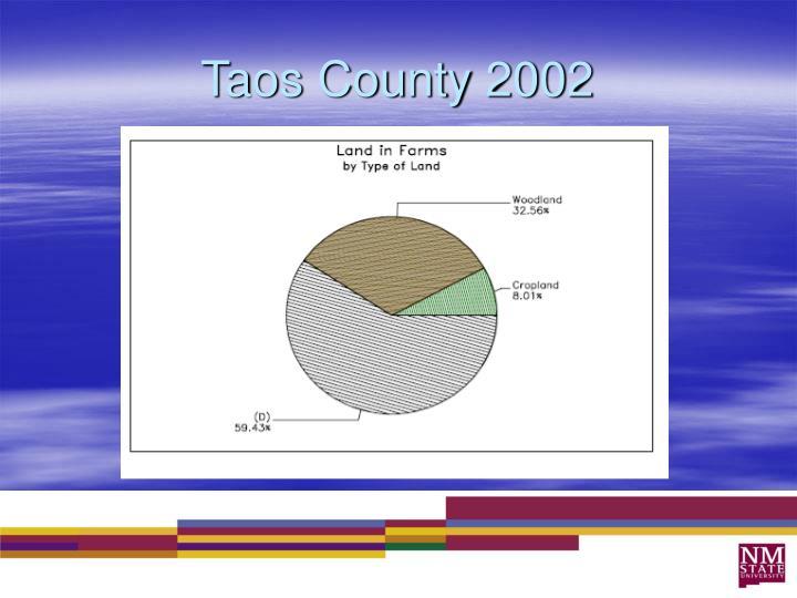 Taos County 2002