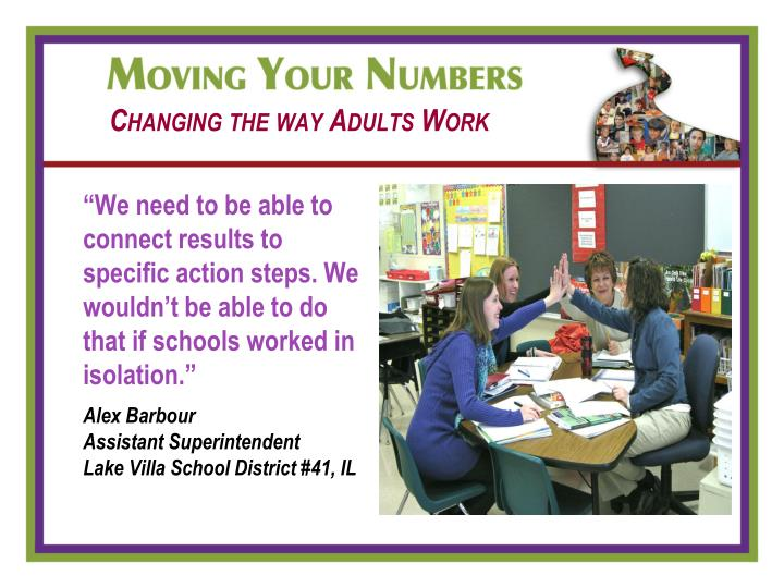 Changing the way Adults Work