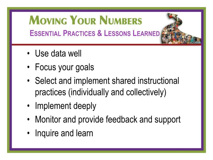Essential Practices & Lessons Learned