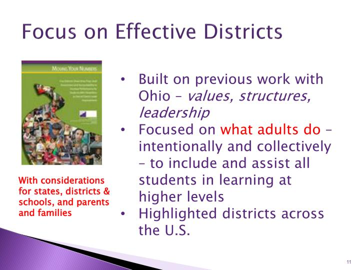 Focus on Effective Districts