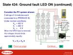 state 434 ground fault led on continued1