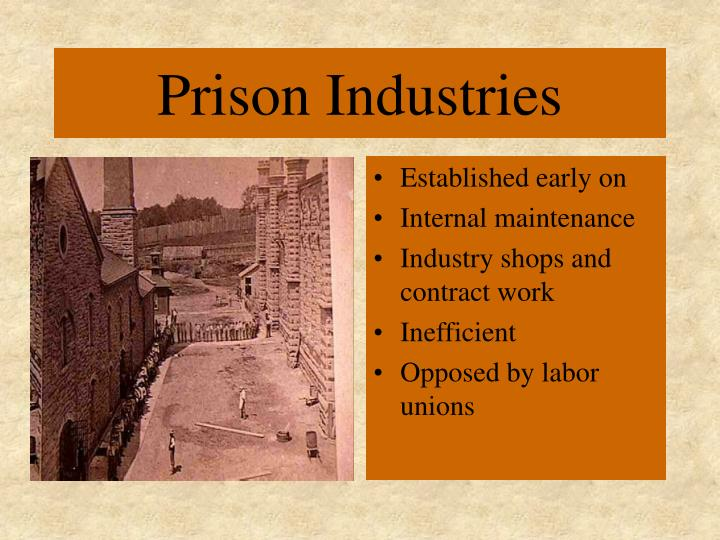Prison Industries