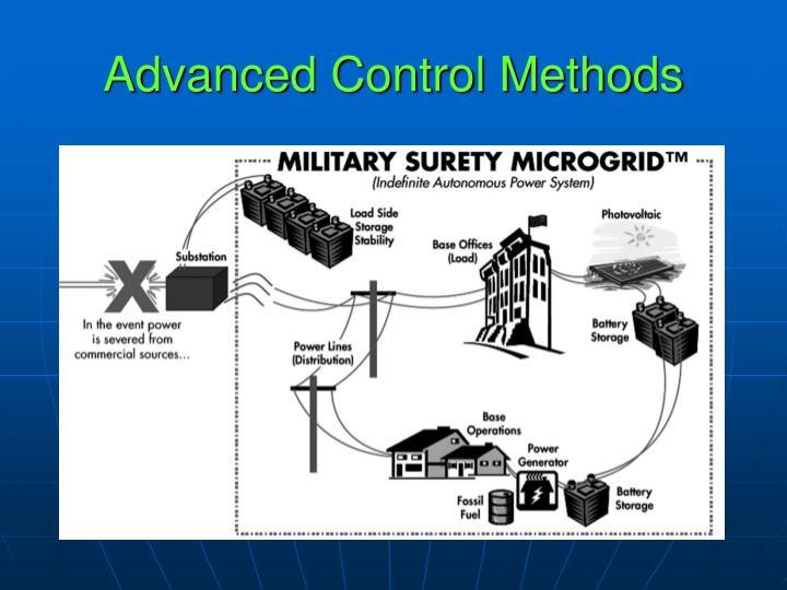 Advanced Control Methods