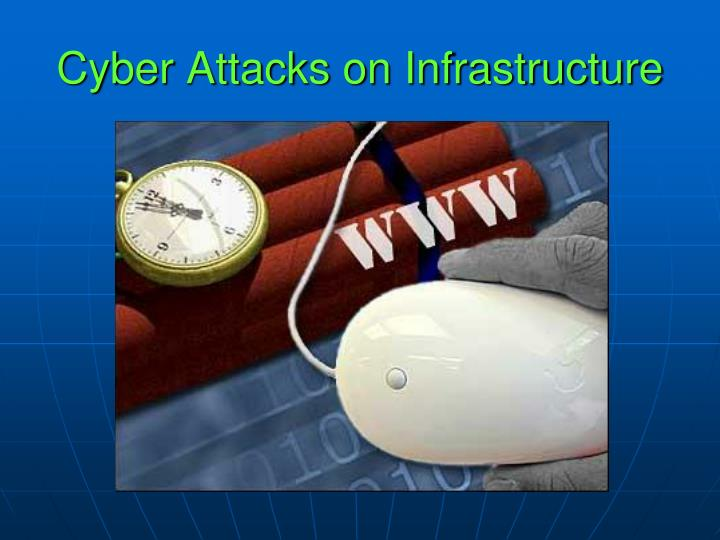 Cyber Attacks on Infrastructure