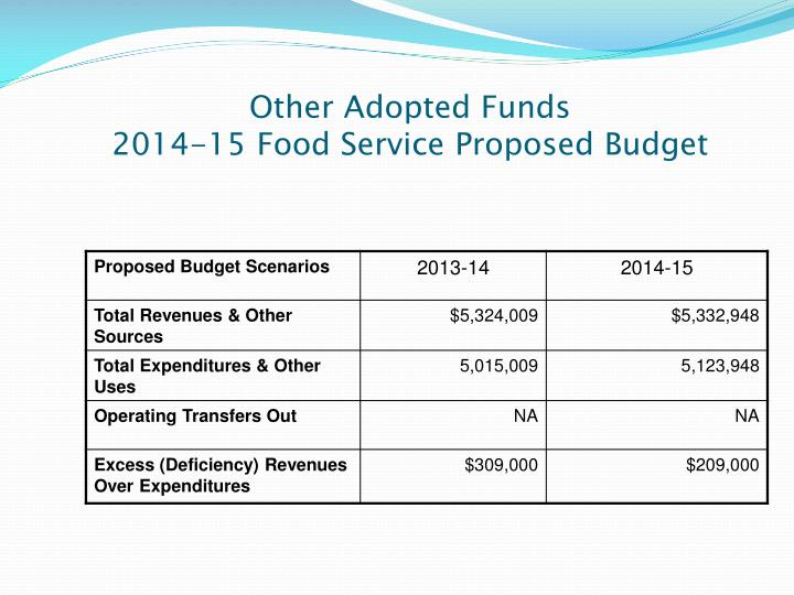 Other Adopted Funds