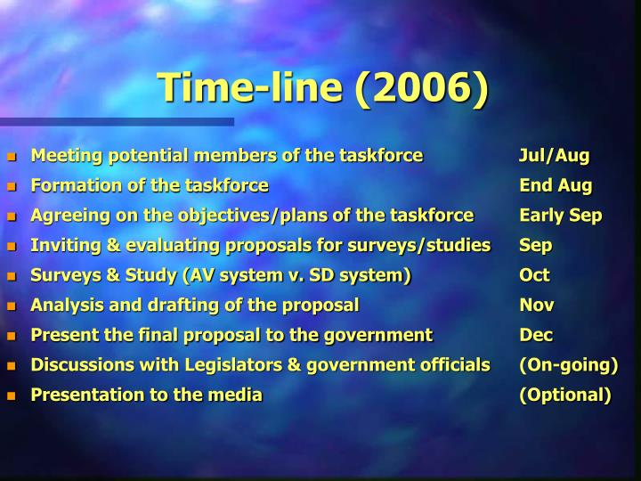 Time-line (2006)