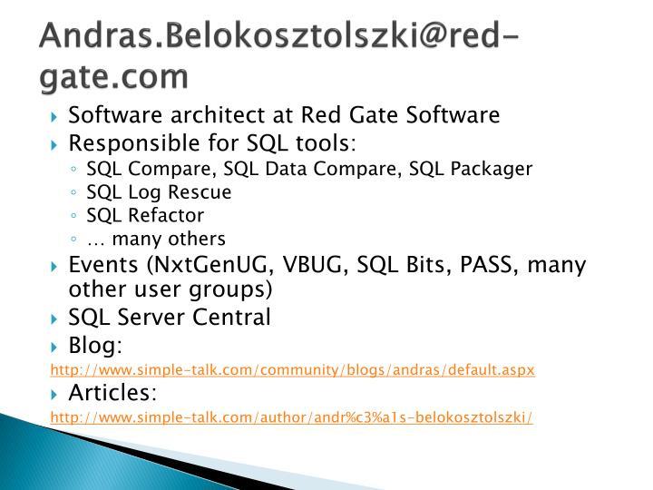 Andras.Belokosztolszki@red-gate.com