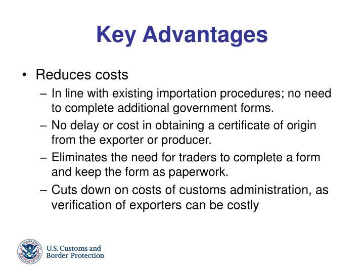 Key Advantages