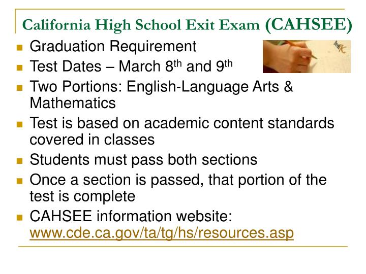 California High School Exit Exam