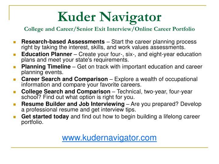 Kuder Navigator