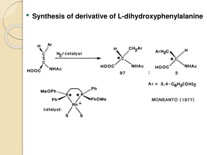 Synthesis of derivative of L-