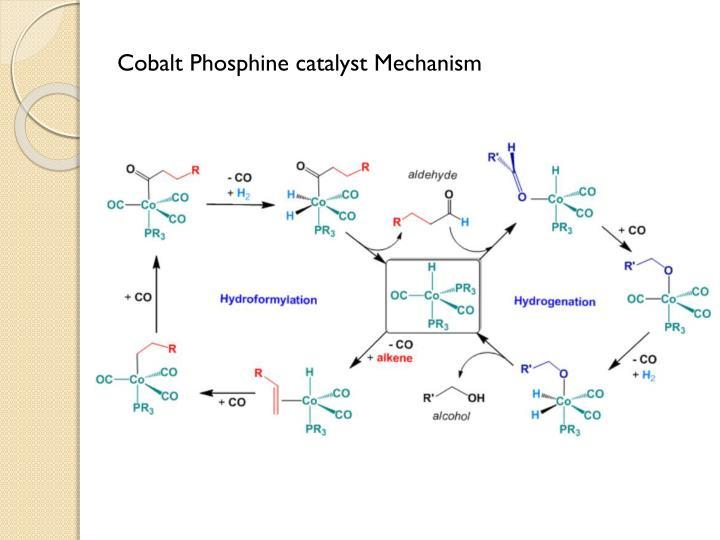 Cobalt Phosphine catalyst Mechanism
