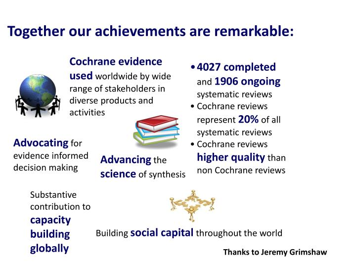 Together our achievements are remarkable:
