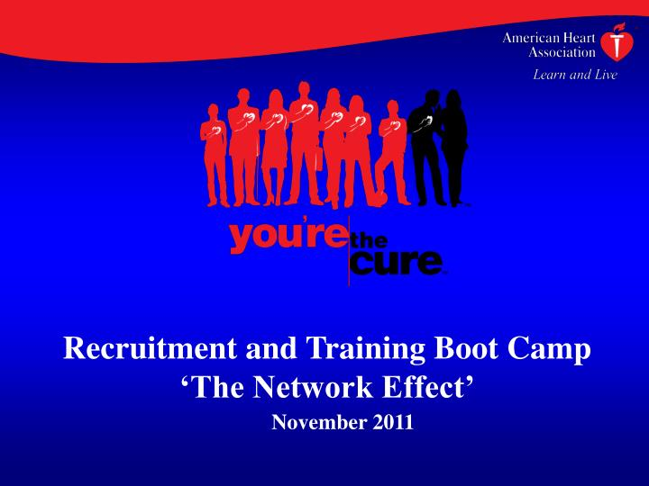 Recruitment and Training Boot Camp
