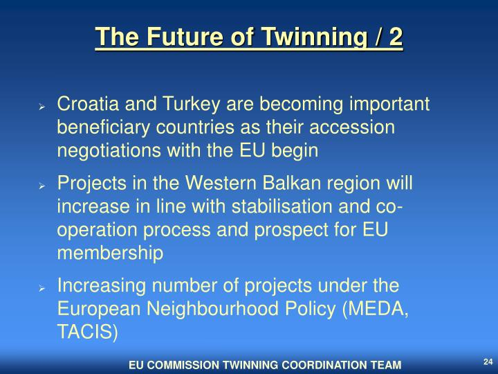 The Future of Twinning / 2