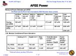 afee power