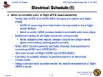 electrical schedule 1
