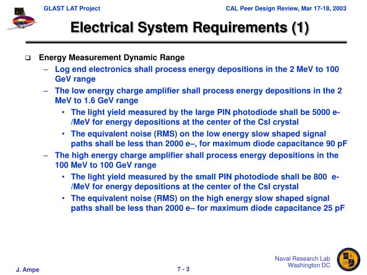 Electrical System Requirements (1)