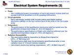 electrical system requirements 3