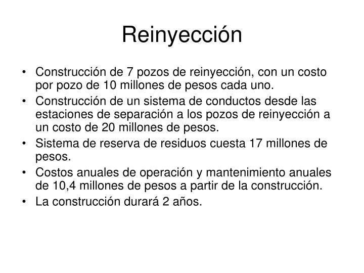 Reinyección