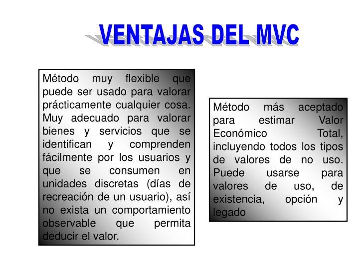 VENTAJAS DEL MVC