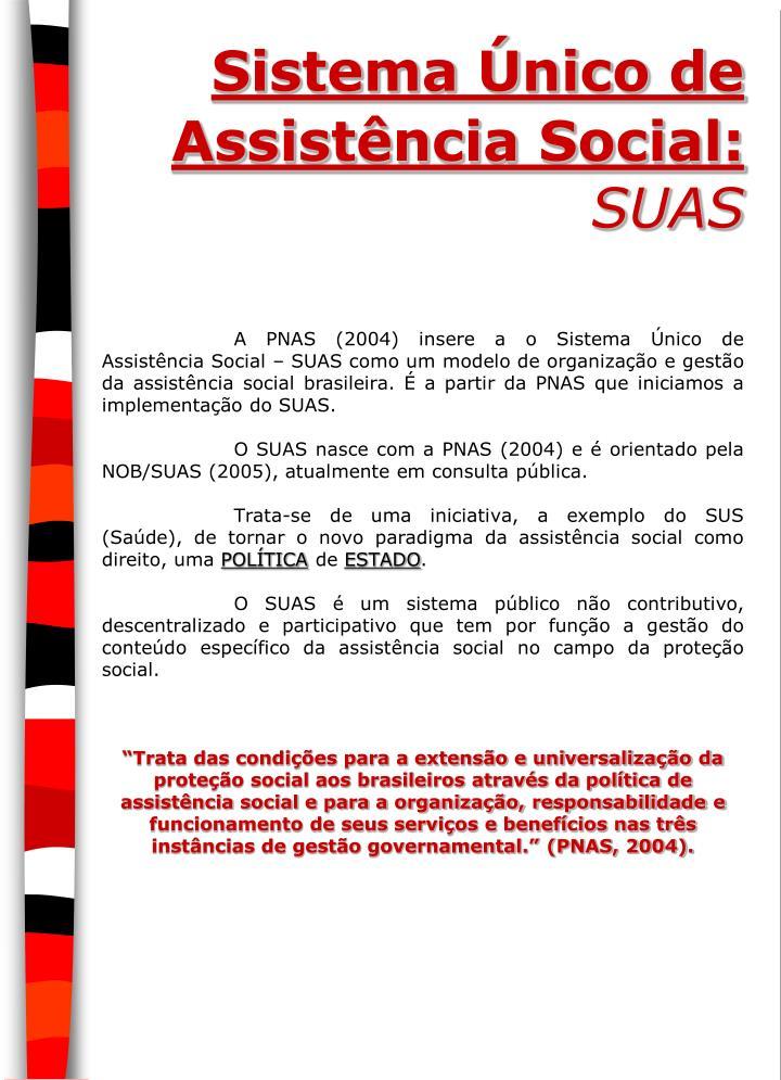 Sistema Único de Assistência Social: