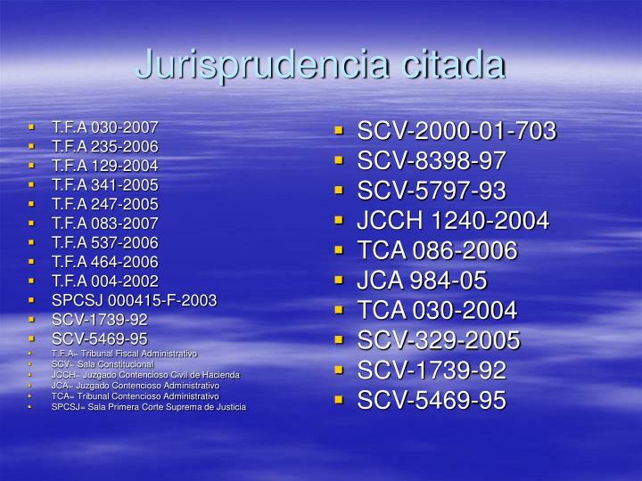 T.F.A 030-2007