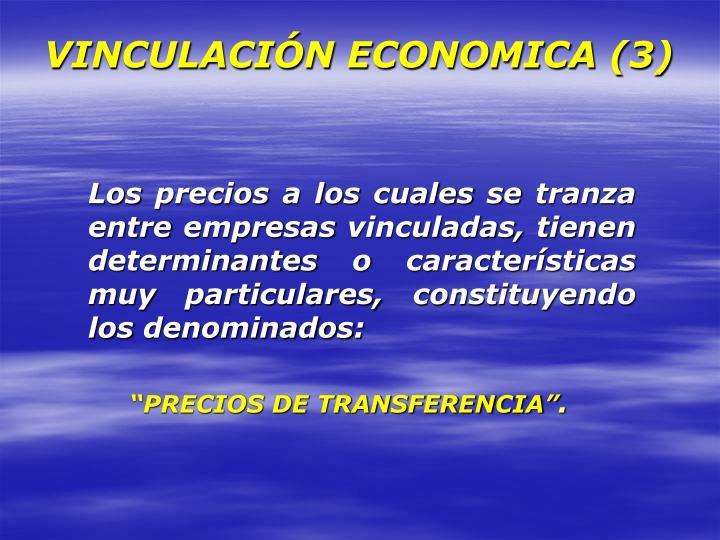 VINCULACIÓN ECONOMICA (3)