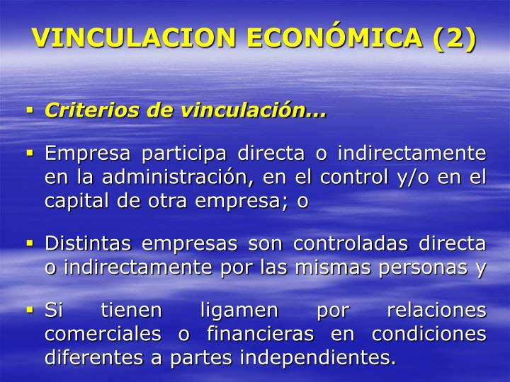 VINCULACION ECONÓMICA (2)