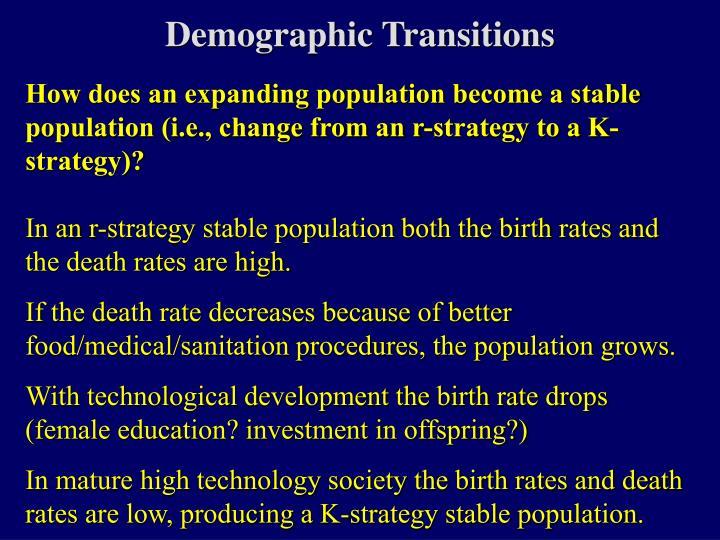 Demographic Transitions