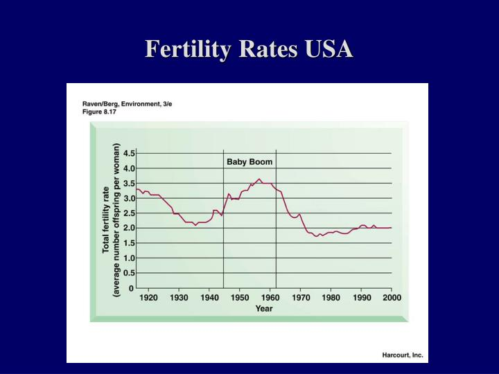 Fertility Rates USA