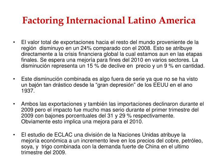 Factoring Internacional Latino America