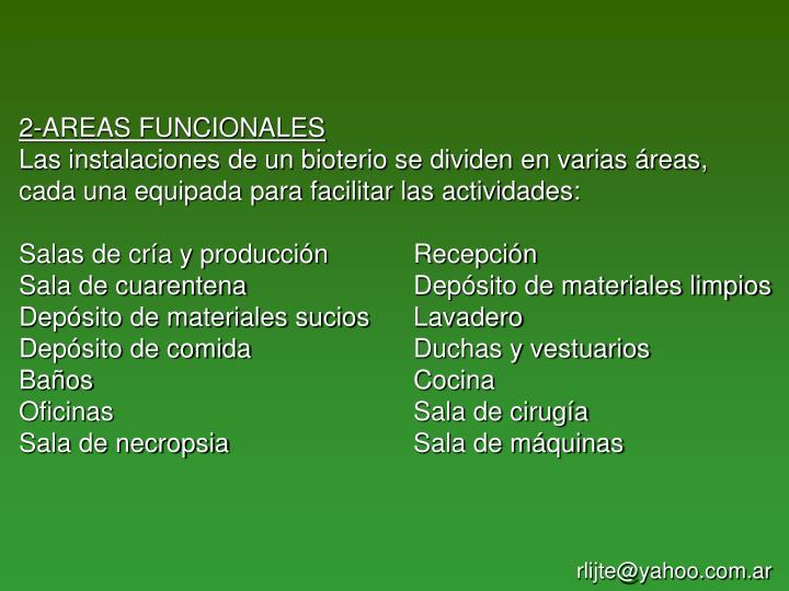 2-AREAS FUNCIONALES