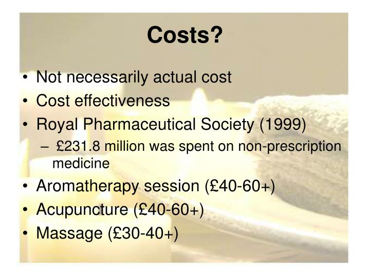 Costs?