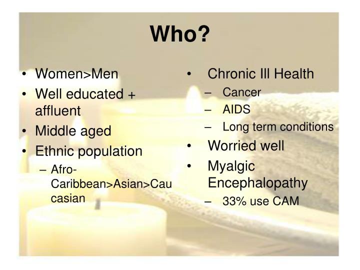 Women>Men