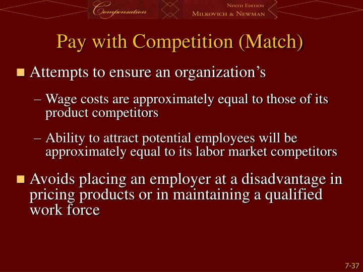 Pay with Competition (Match)