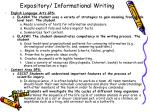 expository informational writing1