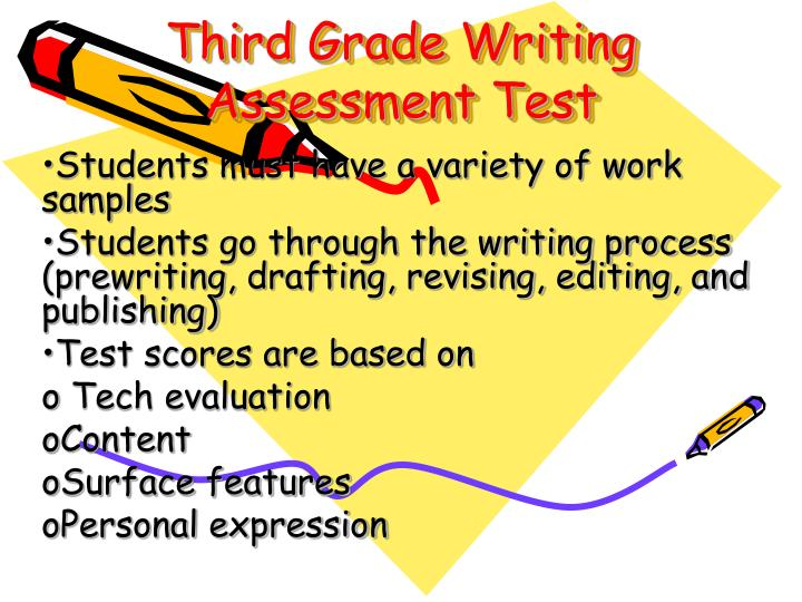 Third Grade Writing Assessment Test