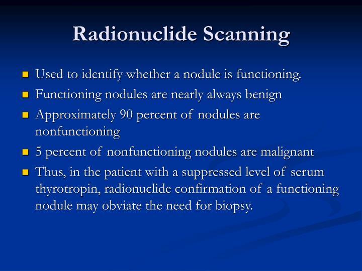 Radionuclide Scanning