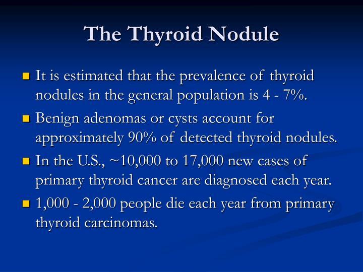 The Thyroid Nodule