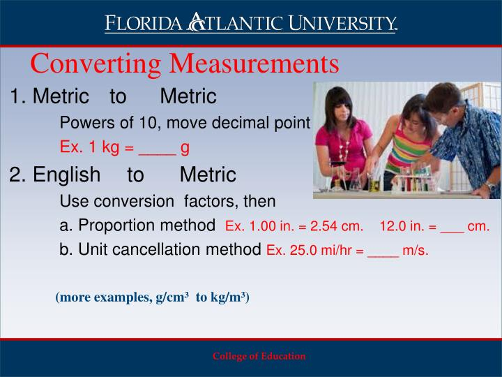 1. Metric toMetric