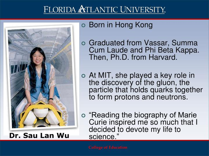 Born in Hong