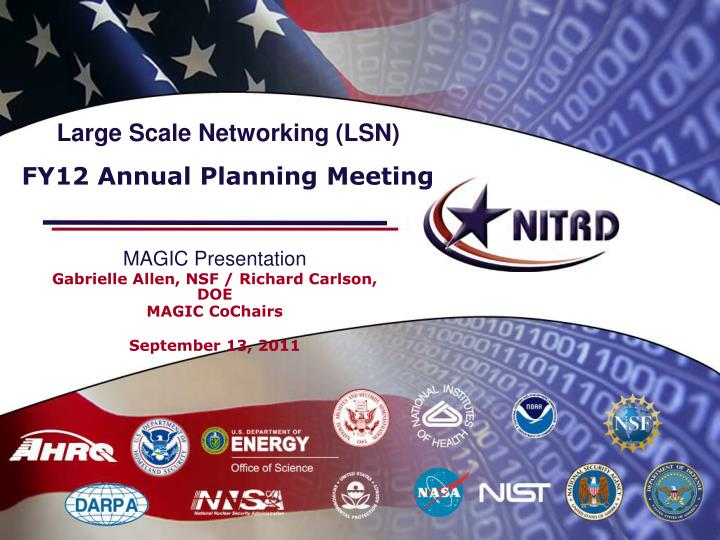 Large Scale Networking (LSN)