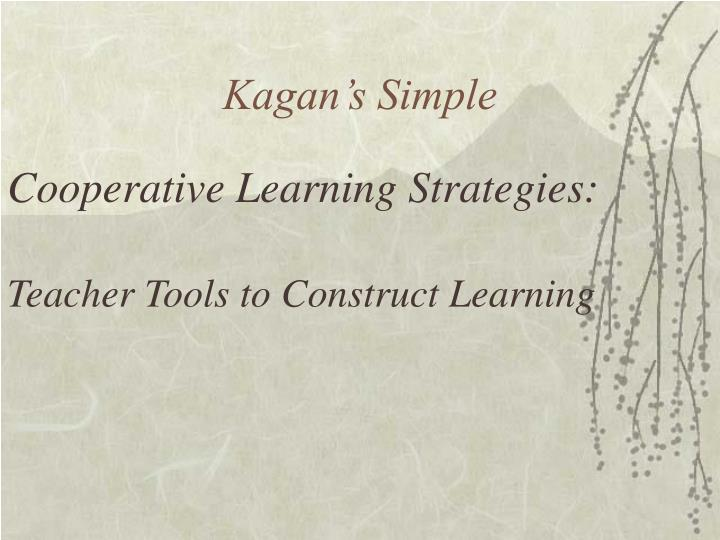 Kagan's Simple